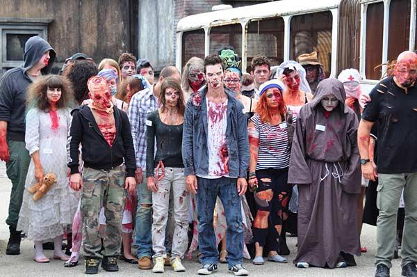 Дом ужасов с монстрами в Мирабиландии