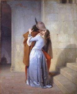 Картина «Поцелуй» Франческо Айеца (19 век)