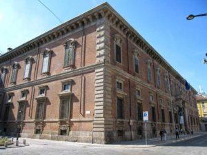 Картинная галерея в Милане