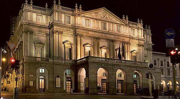 Знаменитый театр Ла Скала в Милане