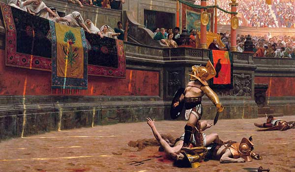 История Колизей в Риме