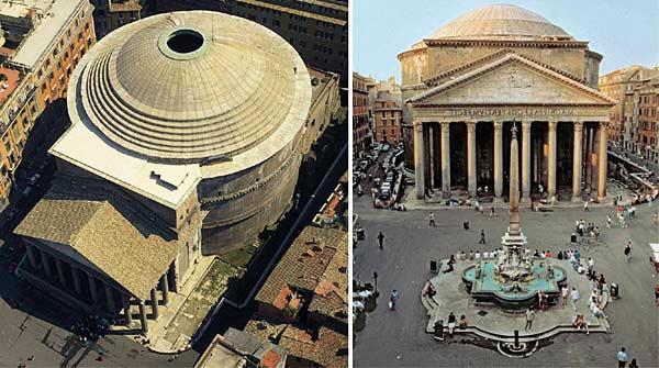 Храм богов Пантеон в Риме