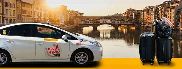 Поездка на такси из Рима во Флоренцию