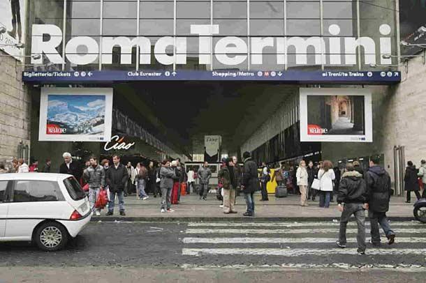 Ж/д вокзала Термини в Риме