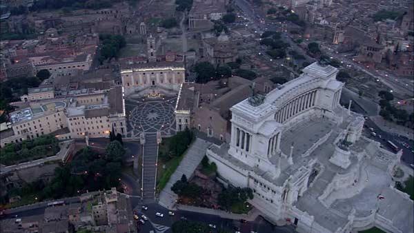 Капитолийская площадь Пьяцца дель Кампидольо