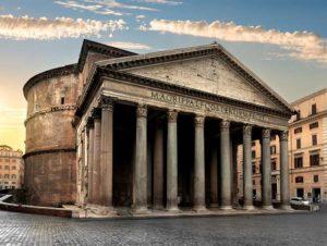 Храм всех богов в Риме-Пантеон