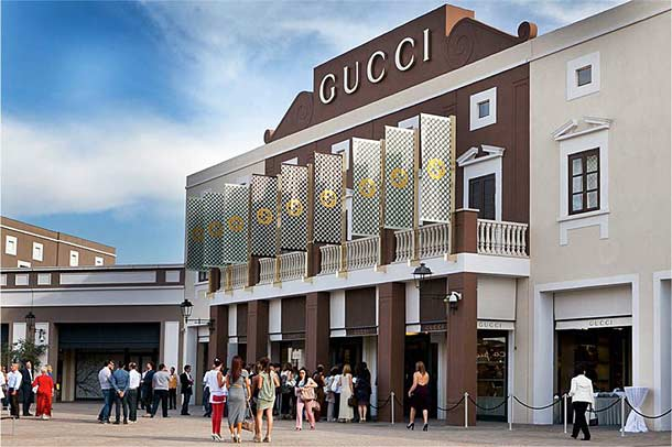 Аутлет на Сицилии Sicilia Outlet Village