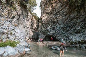 Ущелье Алькантара на Сицилии