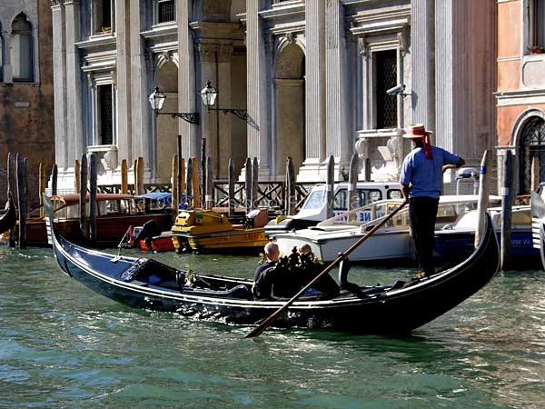 Лодки в Венеции как называются