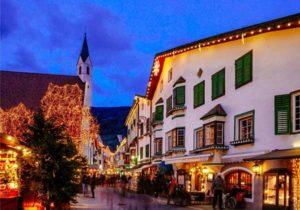 Улицы в Италии на Рождество