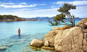 Пляж Capriccioli на Сардинии