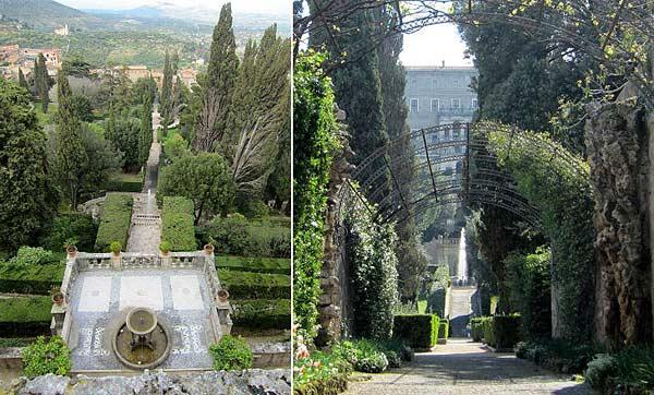 Вилла Тиволи в Италии