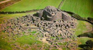Древний город Нураги в Сардинии