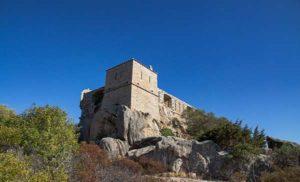Форт Наполеона 18 века Маддалена (Сардиния)