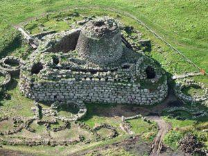 Старый город Нураги на Сардинии