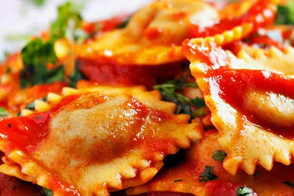 Еда в Италии - Равиоли