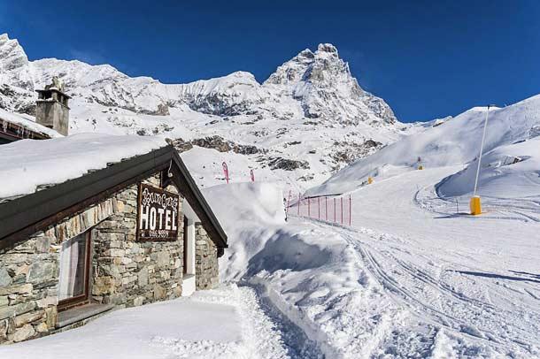 Погода на горнолыжных курортах в Италии в феврале