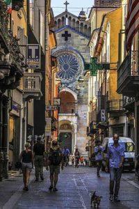 Город Пьяченца в Италии