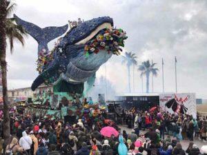 Карнавал в Виареджо (Италия)
