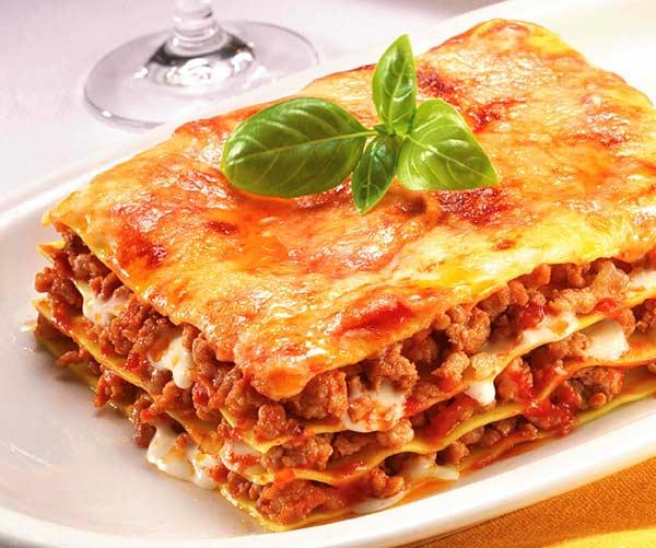 Национальные блюда Италии - Лазанья