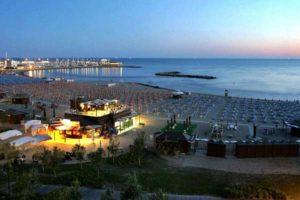 Пляжи Римини бесплатные