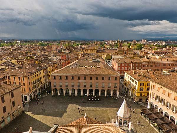 Город Модена в Италии