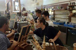 Магазин мороженого в Италии