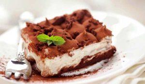 Итальянское пирожное Тирамису
