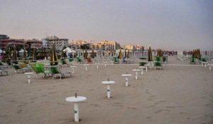 Пляж Лунгомаре Аугусто (Римини)