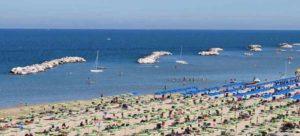Пляж Визерба в Римини