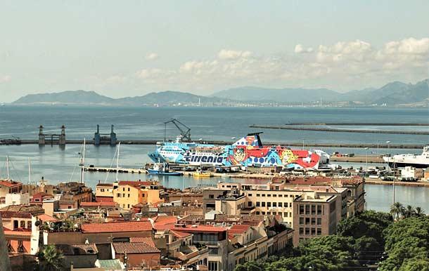 Порт в Кальяри