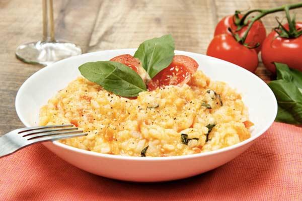Итальянская еда Ризотто