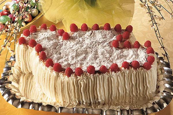 Итальянский торт Коломба
