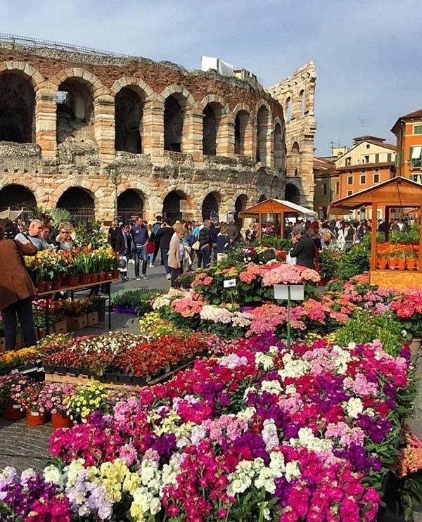 Арена ди Верона в Италии
