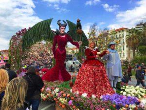 Фестиваль цветов в Сан Ремо в марте