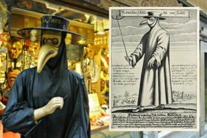 Чумной доктор маска для карнавала