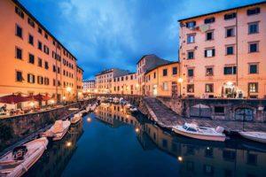 Новая Венеция в Ливорно