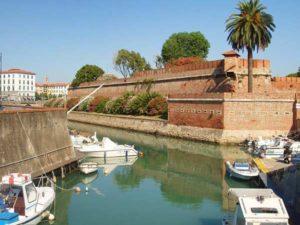 Новая крепость в Ливорно (Италия)