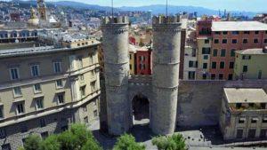 Ворота Porta Soprana в Генуе