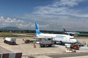 Аэропорт в Римини (Италия)