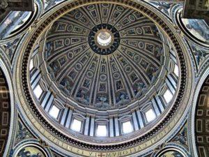 Купол собора Св Петра в Риме