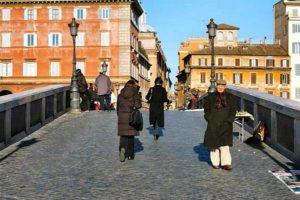 Какая погода в Риме в январе 2020
