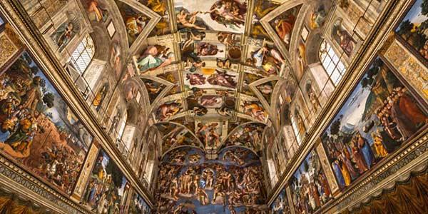 Роспись Сикстинской капеллы Микеланджело