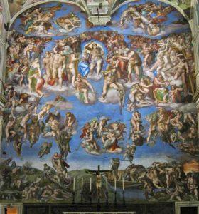 Сикстинская Капелла Микеланджело (Алтарная стена)