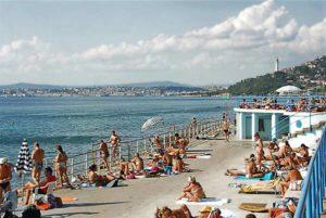 Пляж La Lanterna в Триесте
