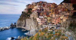 Город Специя в Италии